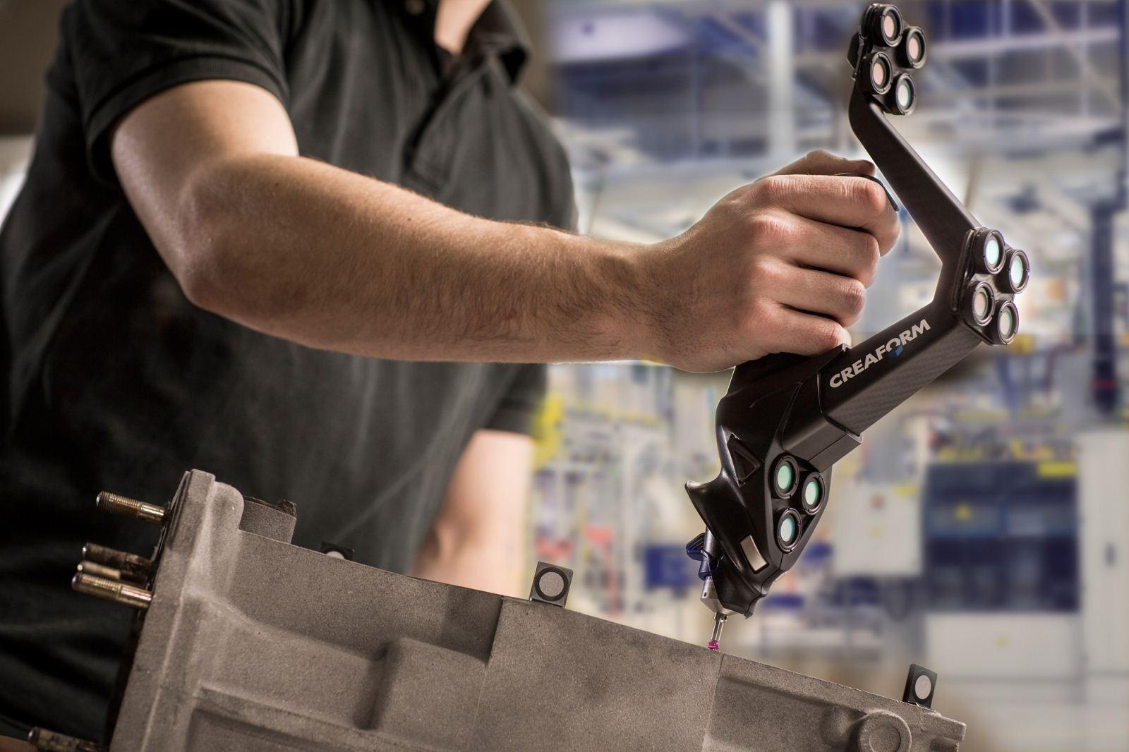 Creaform 推出专为应对现代化车间的各种质量控制挑战而重新打造的全新便携式 HandyPROBE Next