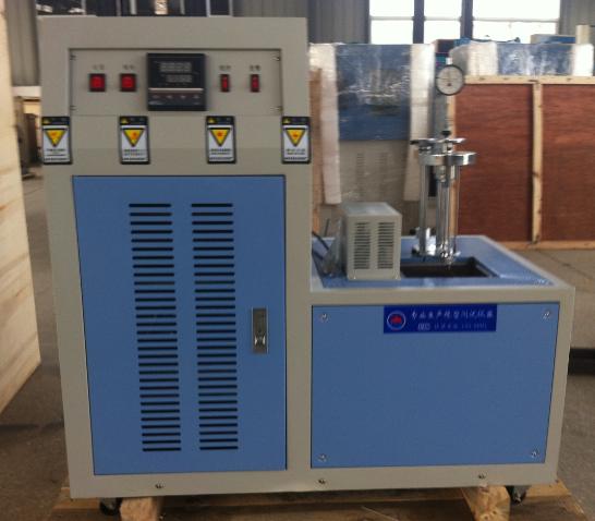 压缩耐寒系数测定仪; 硫化橡胶压缩耐寒系数的测定