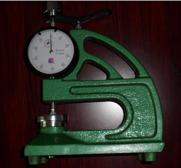 橡胶测厚计;试样测厚仪;薄膜试片厚度仪